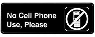 'No Cellphone' Rule