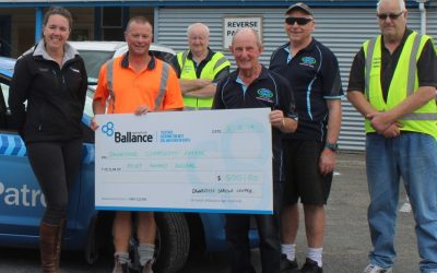 Dannevirke Community Patrol Gifted $800 By Ballance Agri-Nutrients