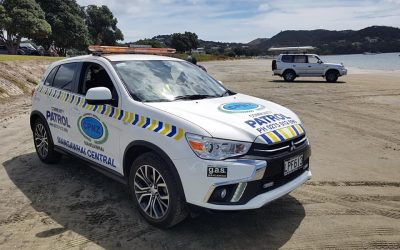 Mangawhai Community Patrollers Locate Valuable Equipment