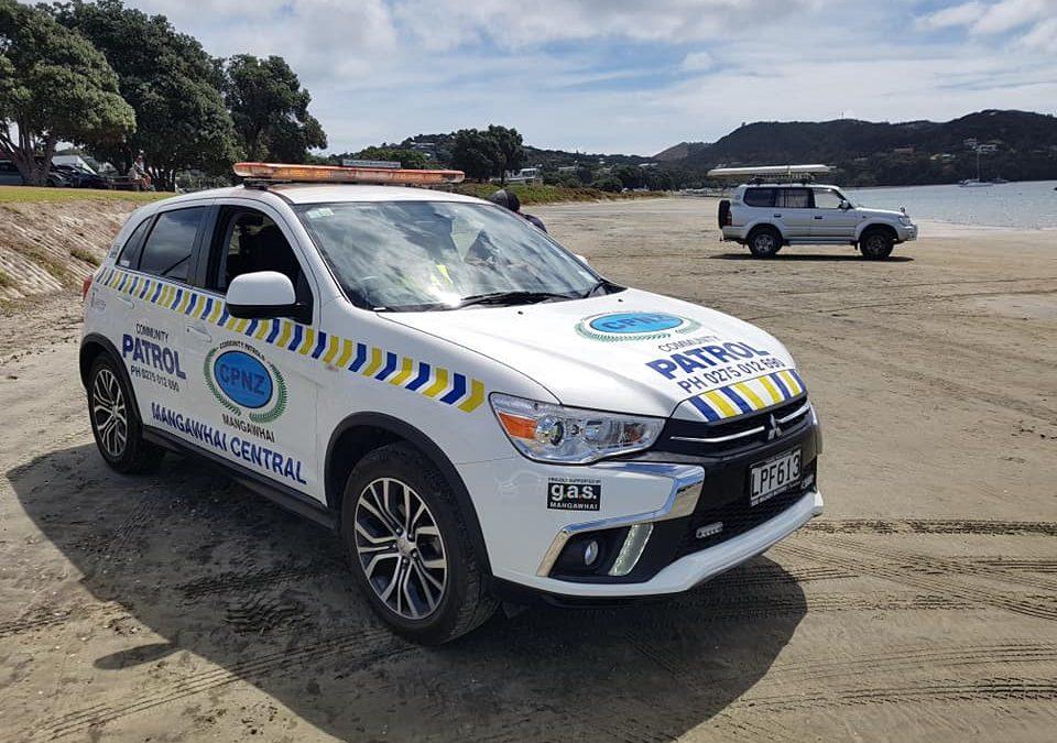 Mangawhai Community Patrollers Locate Valuable Equipment