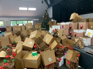 Police Christmas Hampers Boxes