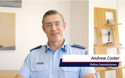 NZ Police Commissioner Andrew Coster's Message for CPNZ