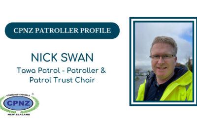 Patroller Profile – Nick Swan