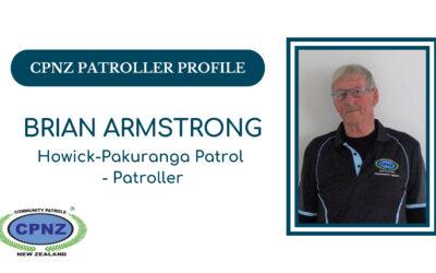 Patroller Profile – Brian Armstrong