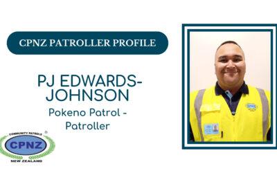 Patroller Profiles – PJ Edwards-Johnson