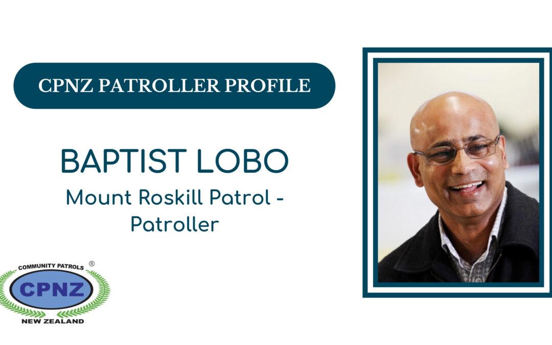 Patroller Profiles – Baptist Lobo